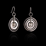 diane-venet-WIRKKALA-Hopeakuu-Earrings